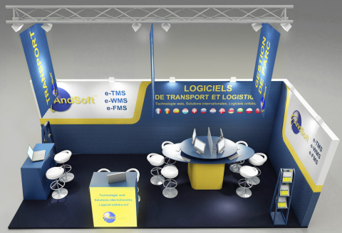 Stand AndSoft en SITL Paris 2013