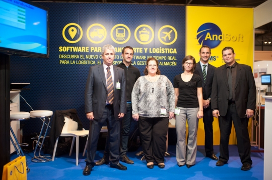 AndSoft en Logistics Madrid 2012