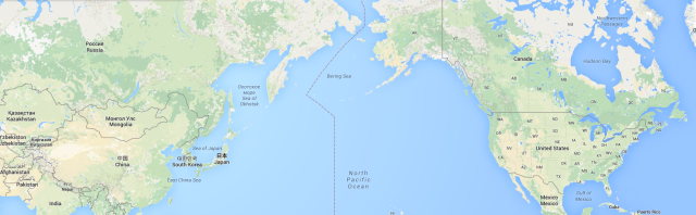 a huge Siberian road (over 21,000 km) to join the Russian border with the state of Alaska (USA