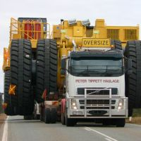 Road freight transport: 80% in Europe