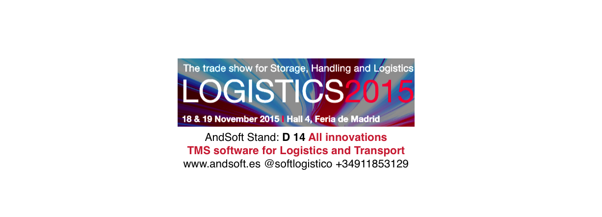 AndSoft Logistics Madrid 2015