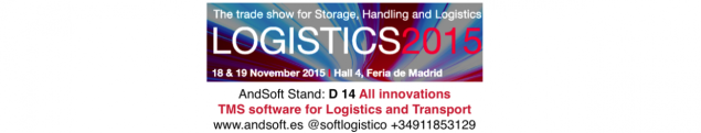 Logistics Madrid Meeting Stand AndSoft D - 14 18 y 19 nov 2015