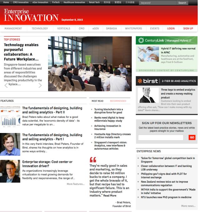 Home Enterprise Innovation