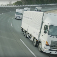 Platooning: Japan looks to put automated truck convoys on road in 3 years