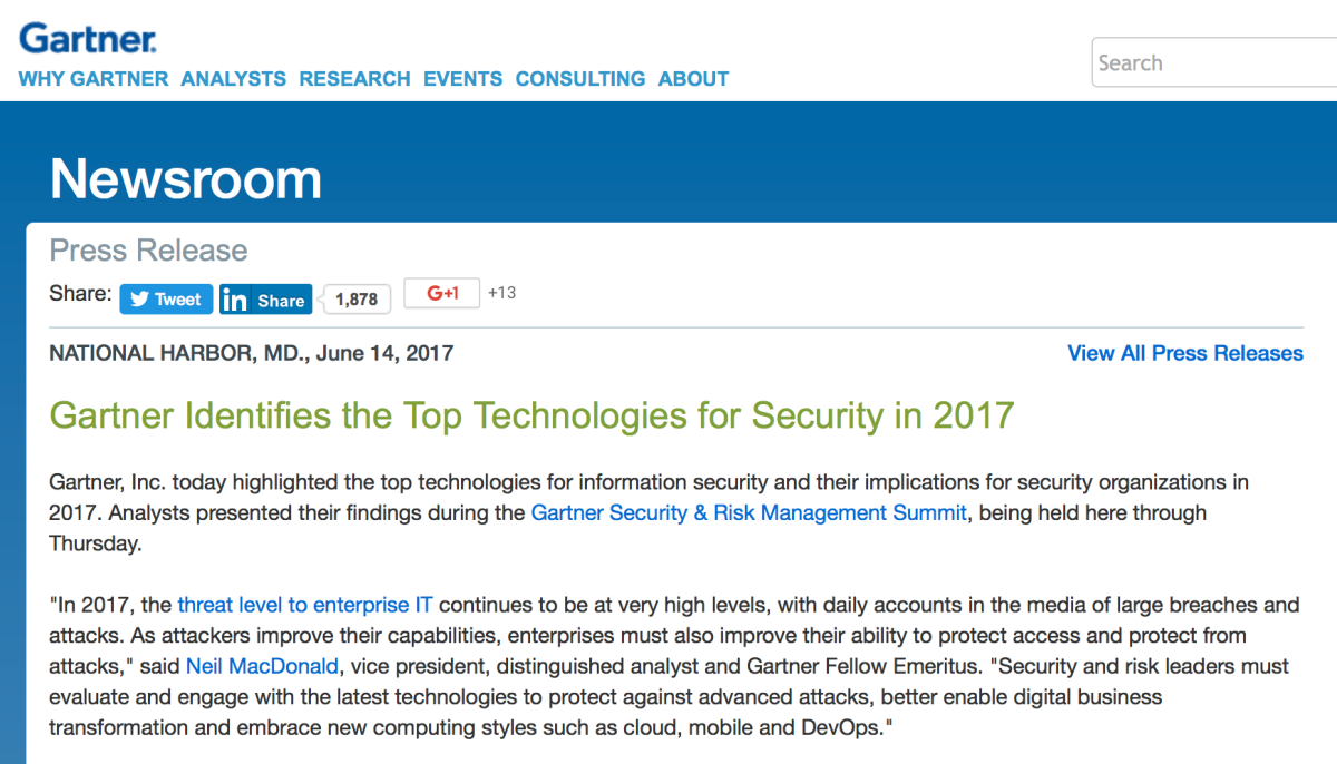 Talking about the security of your information systems is just talking: Companies that invest win
