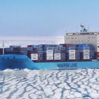 Will a new maritime route through the Arctic affect global transport by road, air and rail?