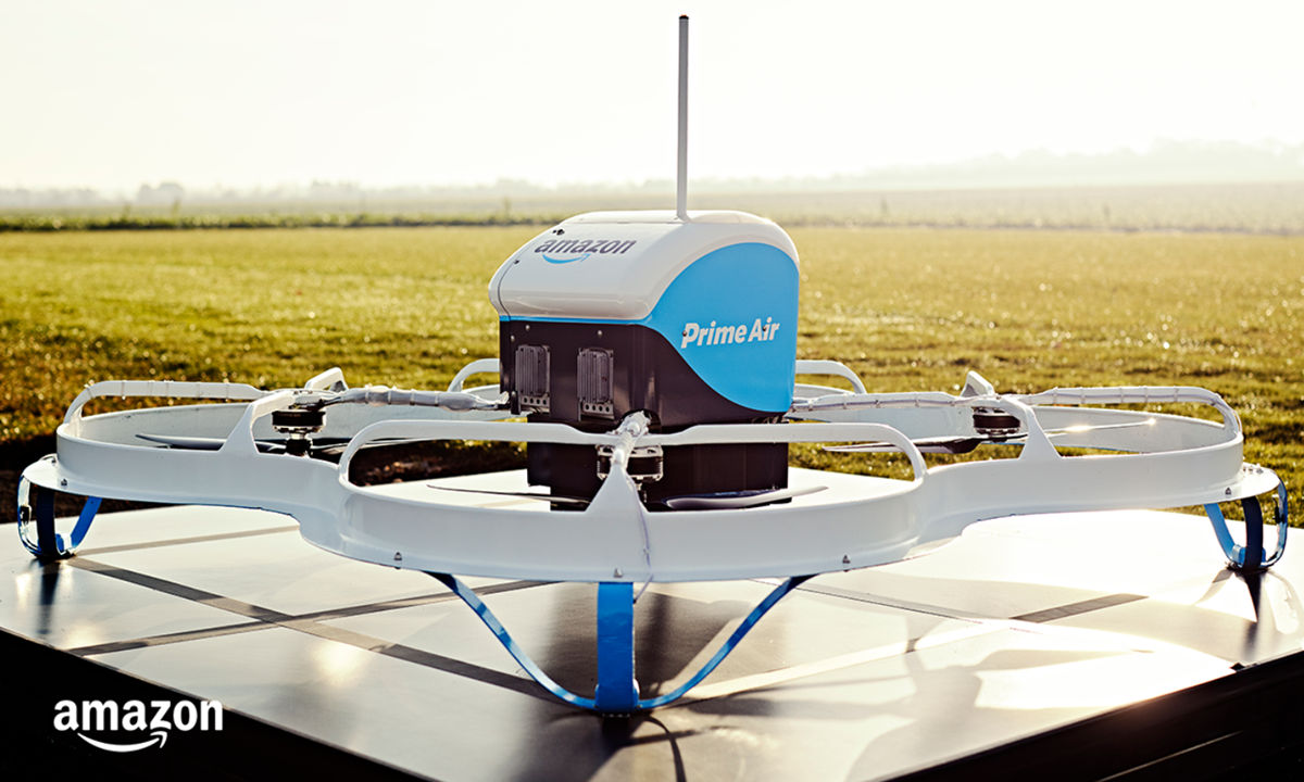 Amazon Prime Air: Who will lead the delivery of packages through drones?