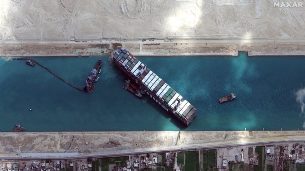 After 100 days withheld: Ever Given, ship that blocked Suez Canal, sets sail after deal signed